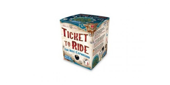 Ticket to Ride Dice Expansion – Бързият вариант