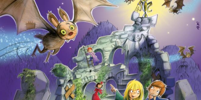 Burg Flatterstein – игра с летящи прилепи и 3Д замък!