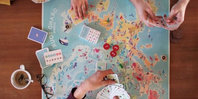 Grand Tour Europe – Страхотна карта на Европа… и до там.