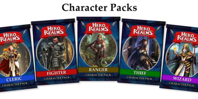 Hero Realms Character Packs – Естествените и почти задължителни мини пакети