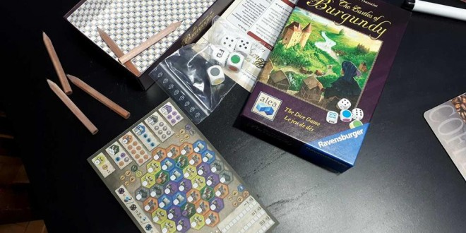 Castles of Burgundy: The Dice Game – Оф…