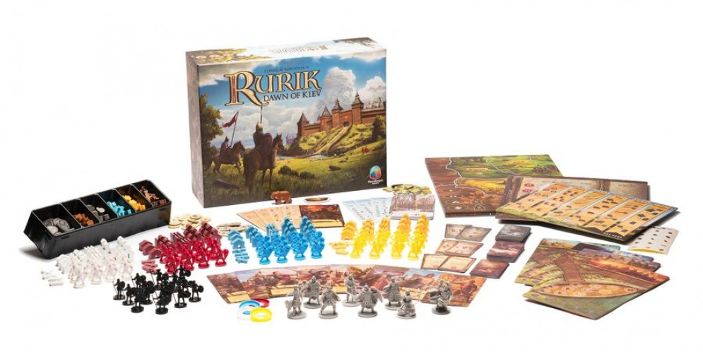 Rurik – елегантна полувоенна игра за начинаещи