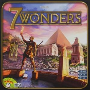 7 Wonders Score Card (Таблица за точкуване)