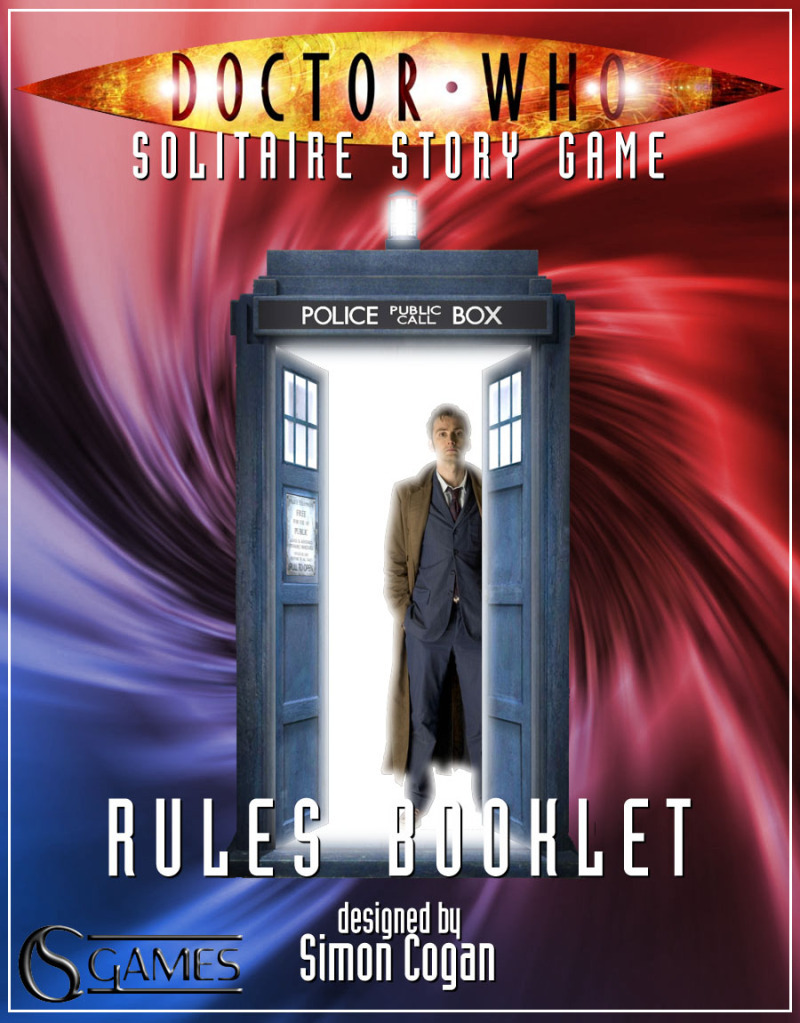 Print and Play: Doctor Who: Solitaire Story Game