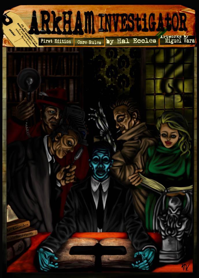 Print and Play: Arkham Investigator