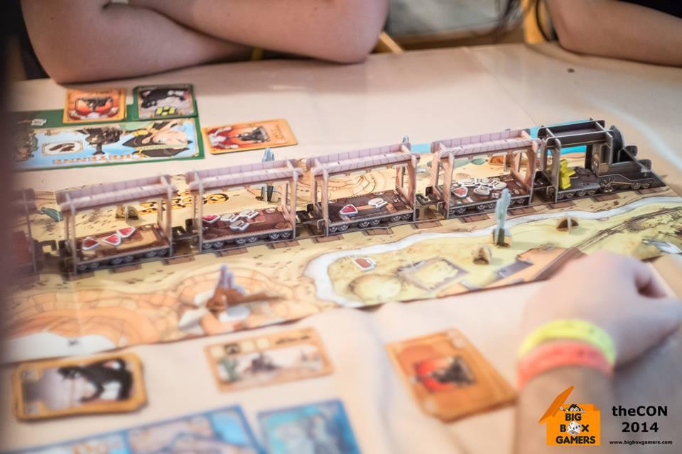Colt Express – настолна игра с 3D влак!