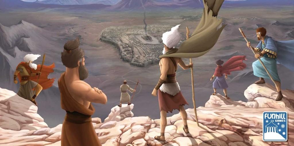 Kings of Israel – най-добрата библейска настолна игра