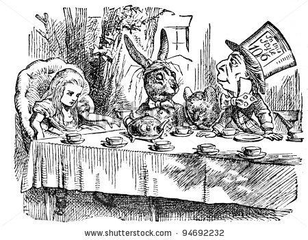 Безплатна игра за принтиране: A Twisted Tea Party