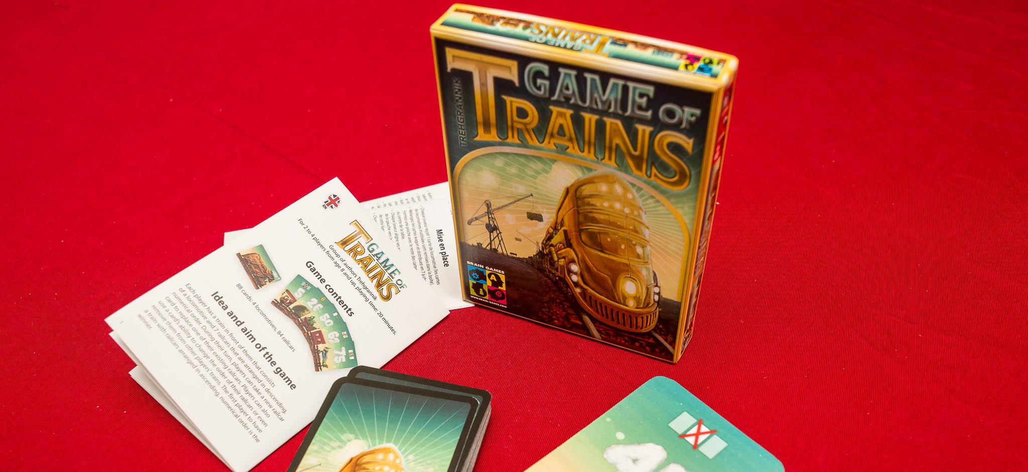 Game of Trains – лека игра, в която си строите влак