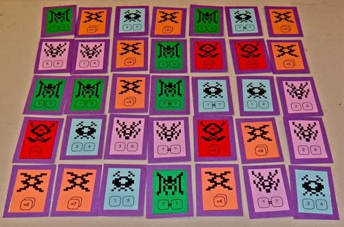 8-Bit Invaders – Безплатна игра за принтиране