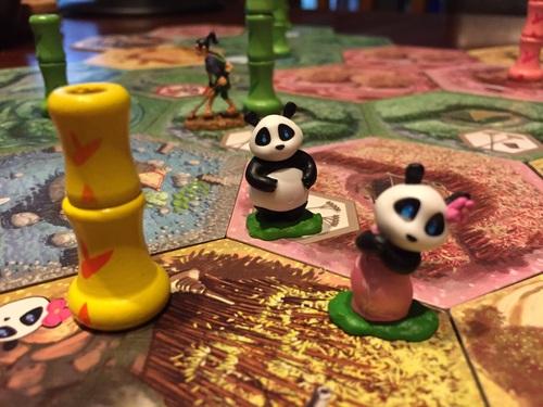 Разширение на Takenoko: Chibis – Разширение с Бебета панди!