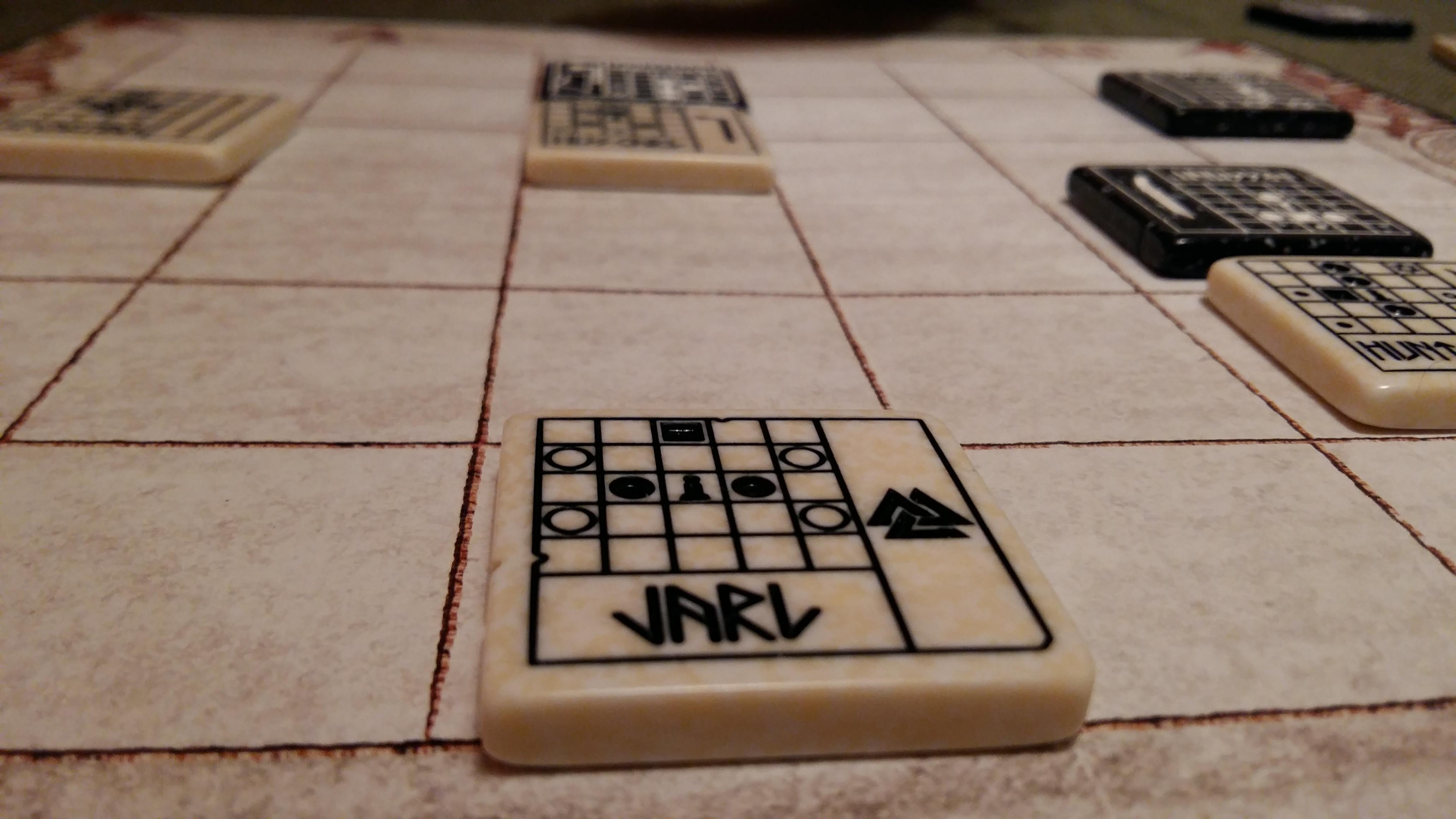 Jarl: The Vikings Tile-Layng Game – викинска версия на The Duke