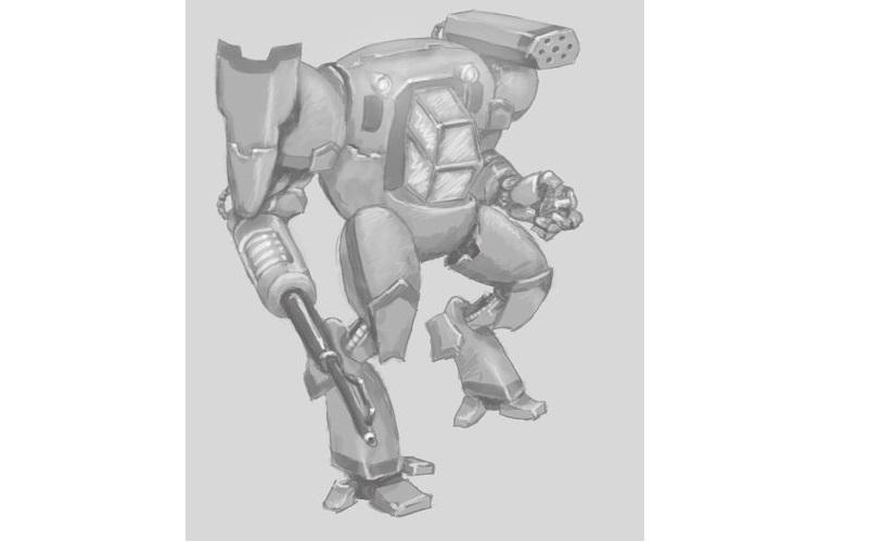 Paper 'Mech – Голям робот в малка игра