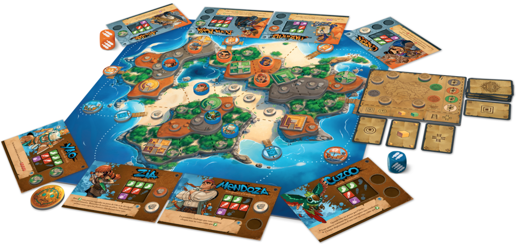 Sol – отборна пиратска игра с 3Д остров!