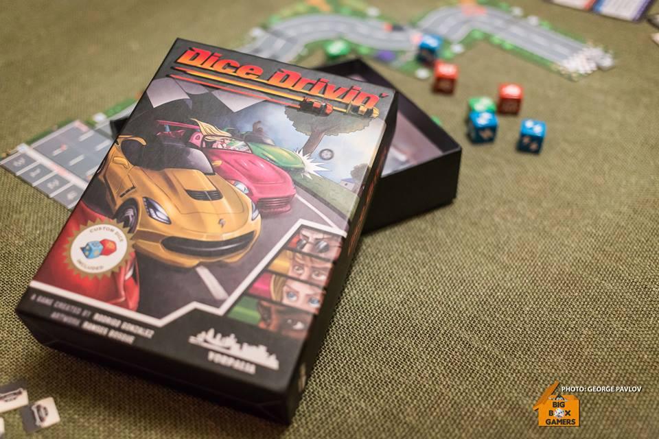 Dice Drivin' – Nintendo's Road Fighting със зарчета