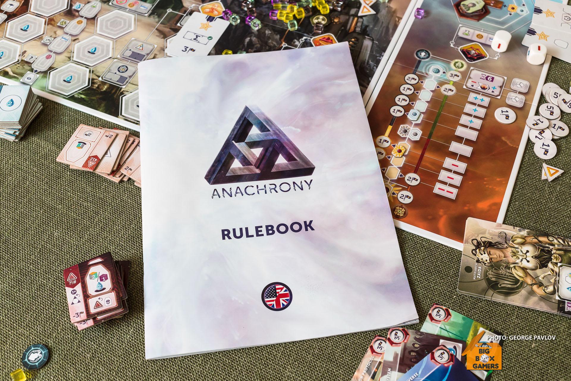 Anachrony – времеви парадокс в евро игрите!