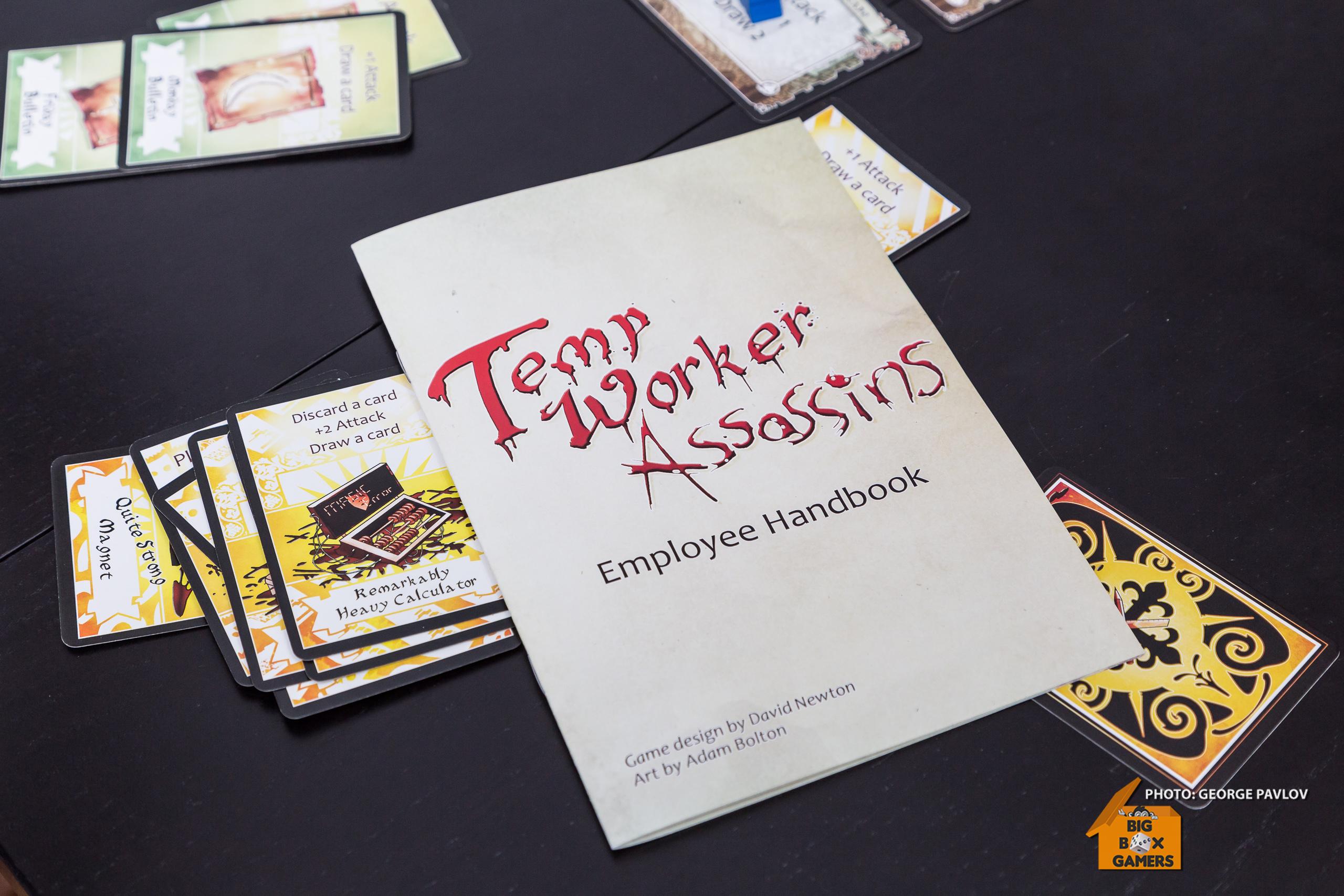 Temp Worker Assassins – търсите игра за офиса?