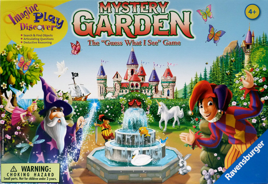 Mystery Garden – Виждам-виждам… Dark Stories за деца