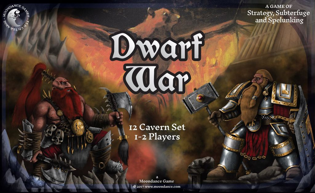 Dwarf War – Ковчег с тонове магнити и 3Д пещери!