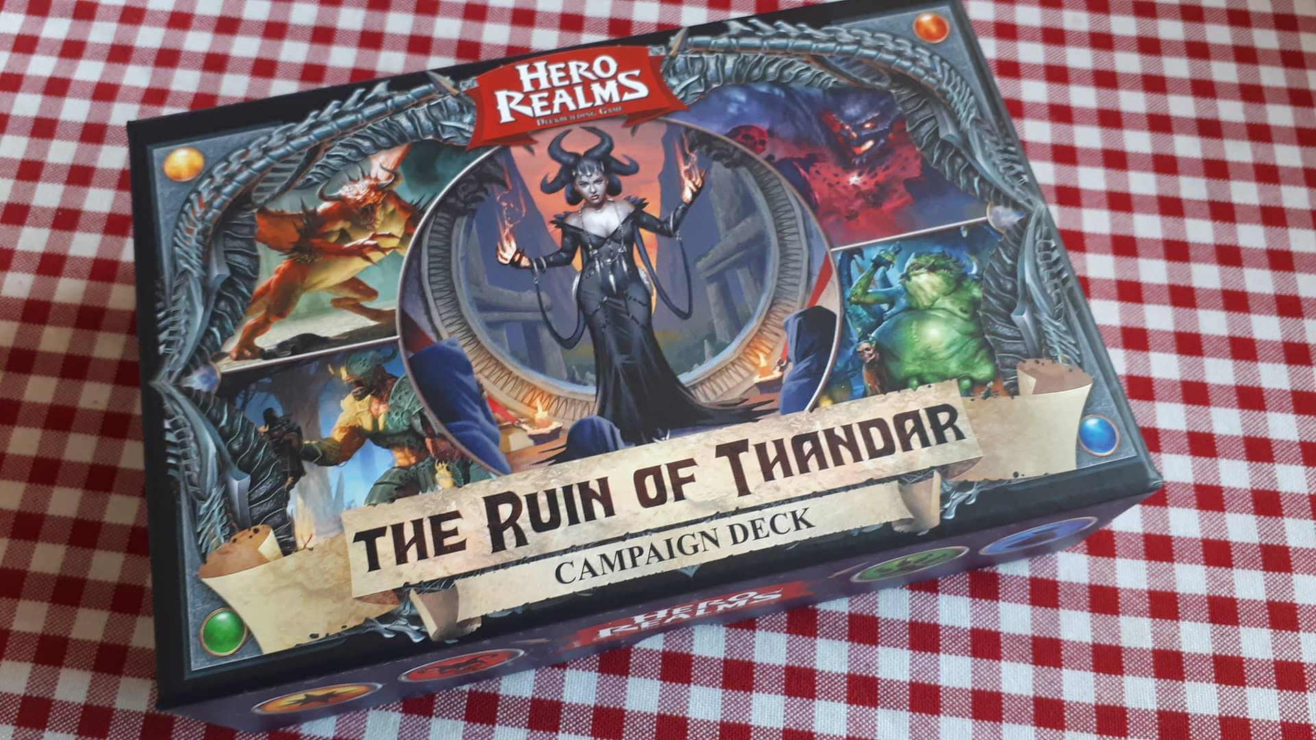 Hero Realms: The Ruins of Thandar and Boss Decks