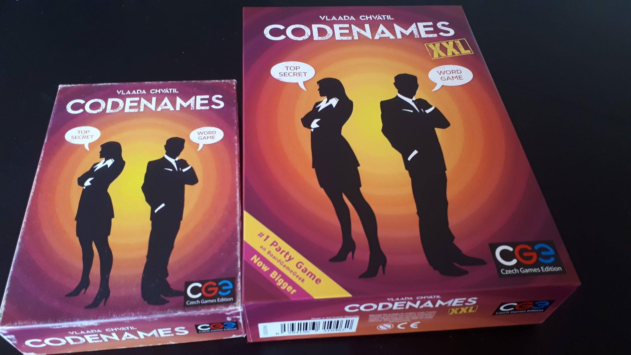 Codenames XXL – същото, но… XXL