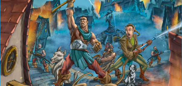 The Brigade – Пълни кофи с вода и оригиналност