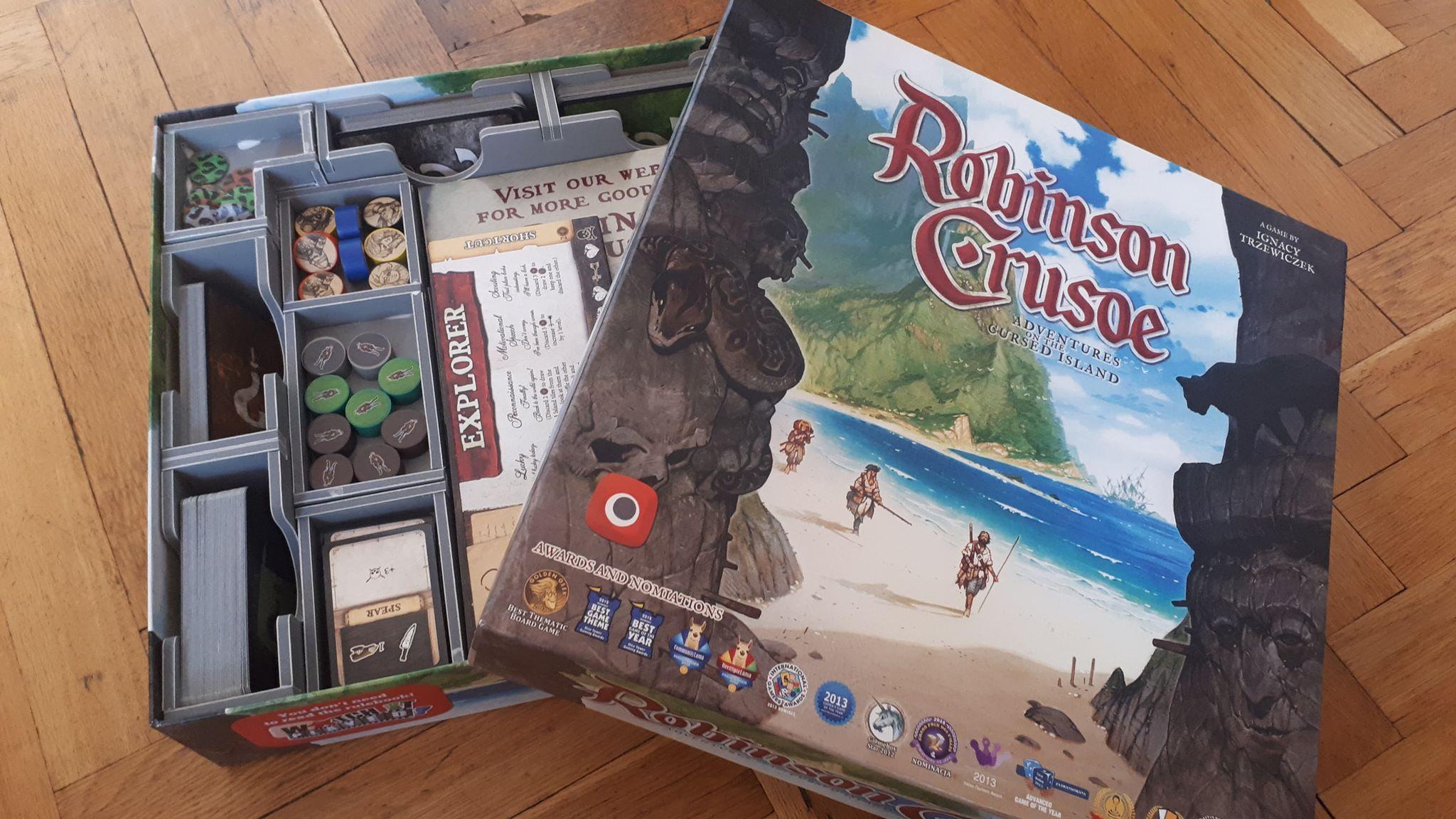 Folded Space – Robinson Crusoe Insert