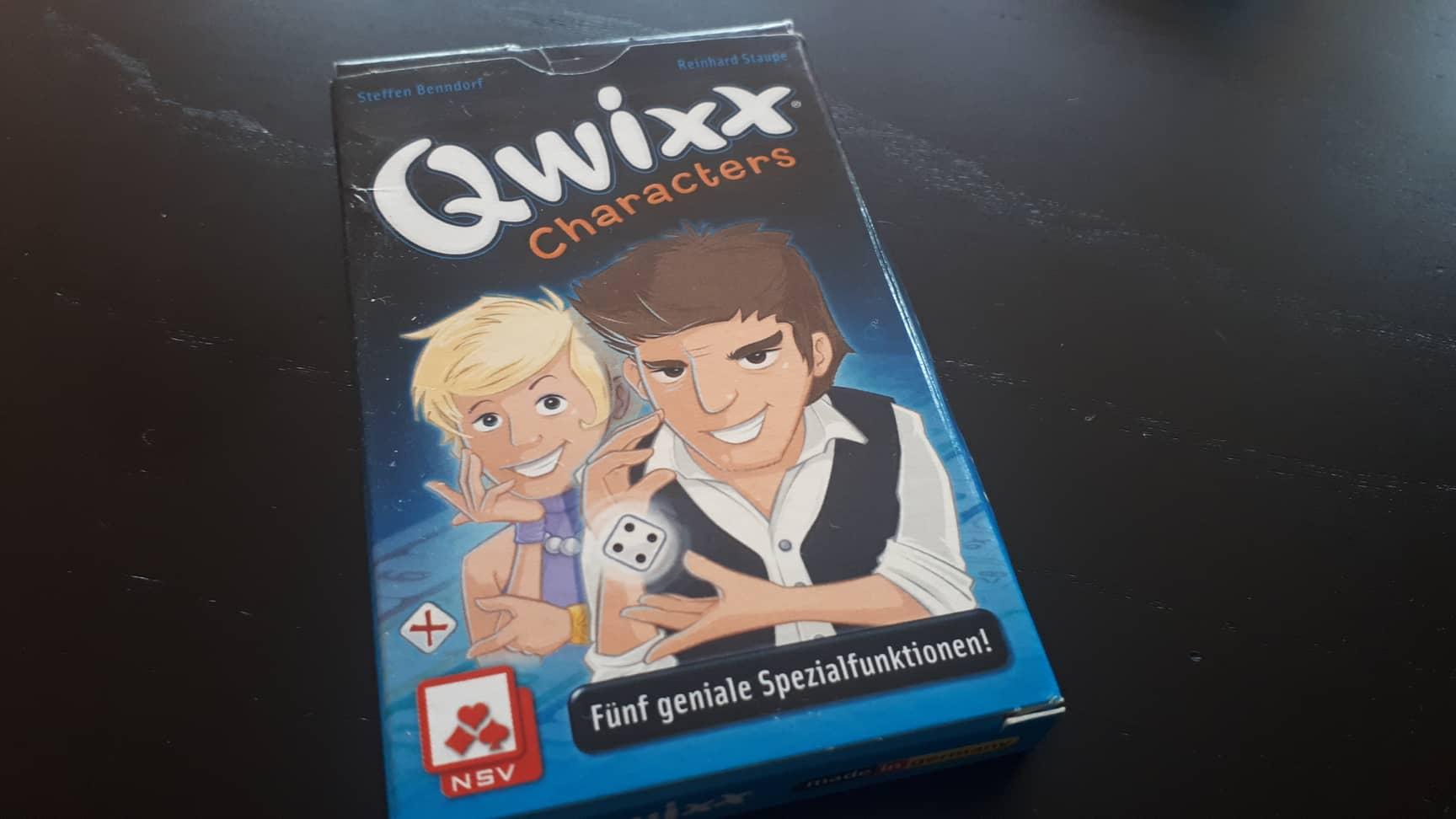Qwixx Characters – разширение за Qwixx