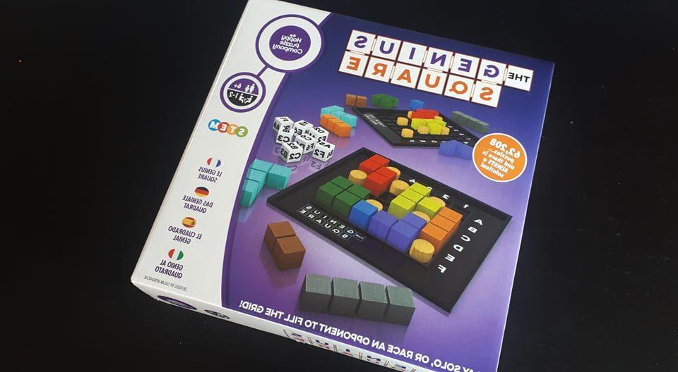 "The Genius Square – перфектната соло ""терасна игра"""