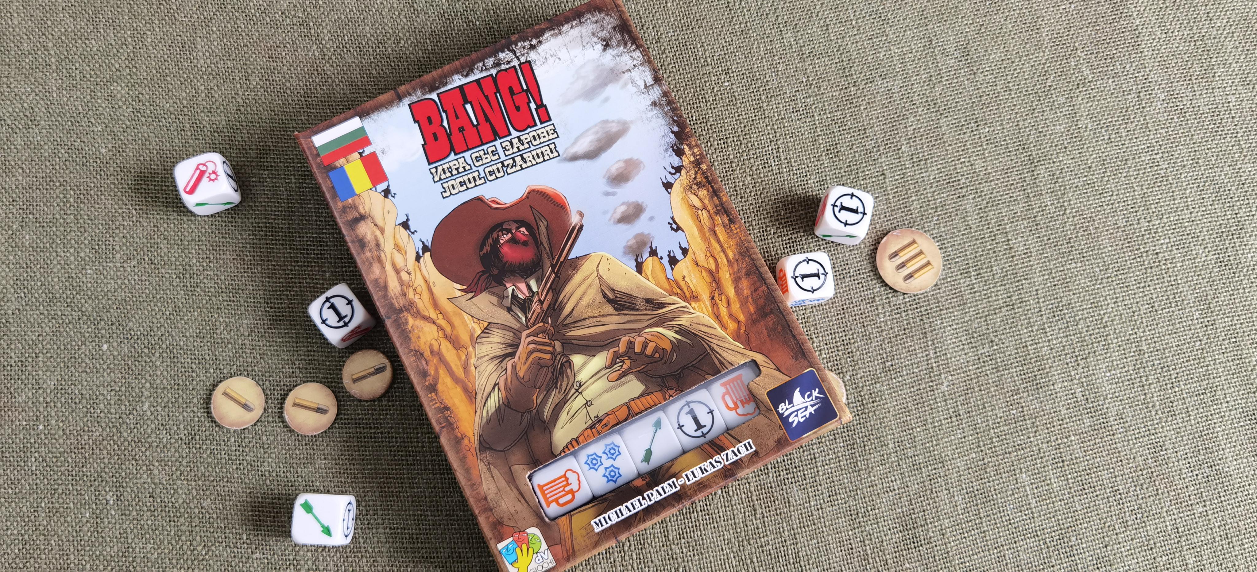 BANG! The Dice Game – Вече на български
